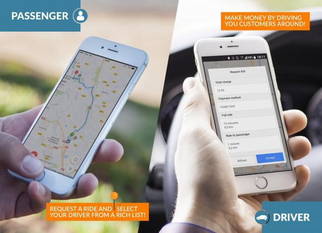 Taxi - Uber Like app