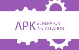 APK Generator installation