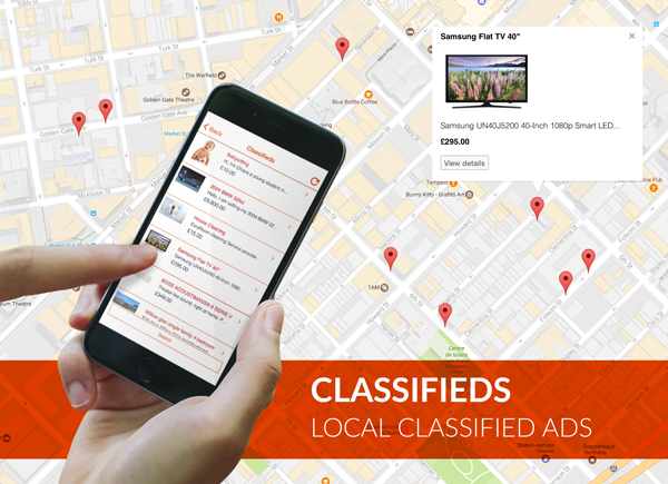 Classifieds: Create a Craigslist-like app - Siberian CMS App Maker